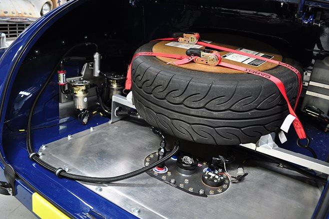Holden FJ boot