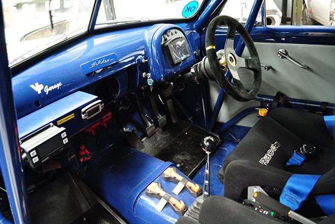 Holden FJ interior