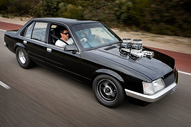 Holden VH Commodore onroad