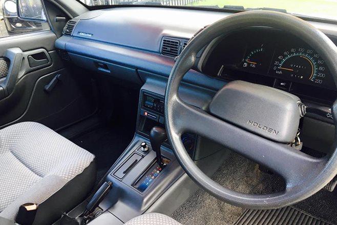 Holden VN Commodore interior