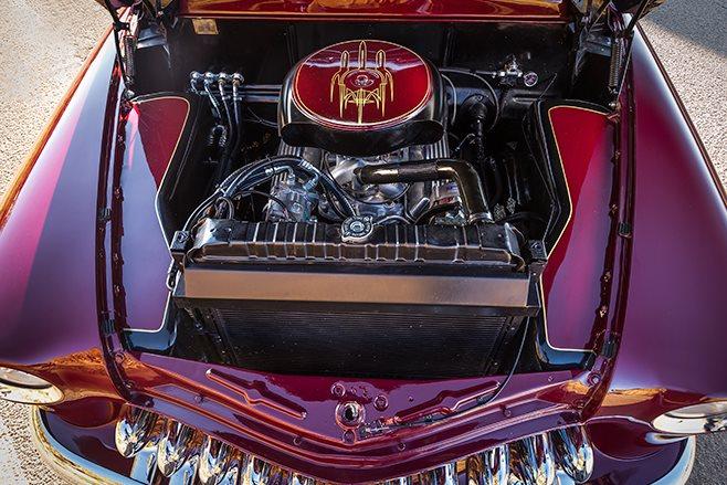 Mercury Coupe engine bay