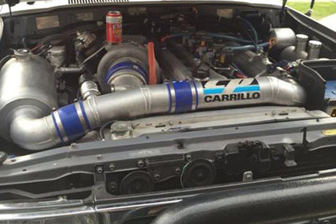 Toyota Landcruiser engine