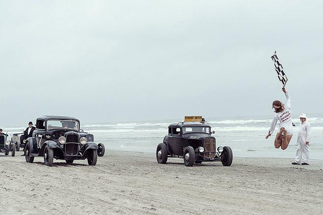 Ford 5 window coupe beach run