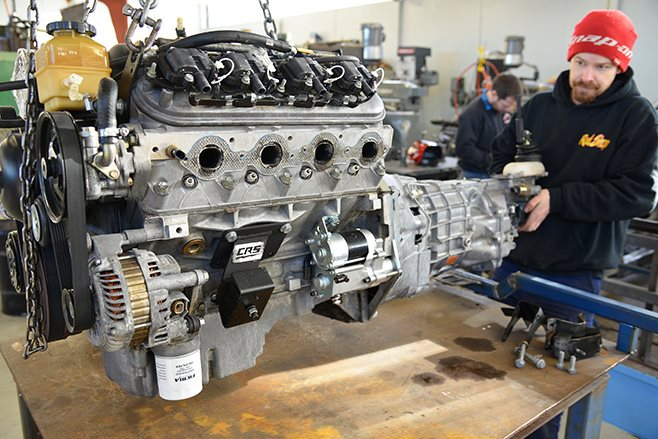 LS CONVERSION KIT FOR A FIRST-GEN HOLDEN COMMODORE - PART 2