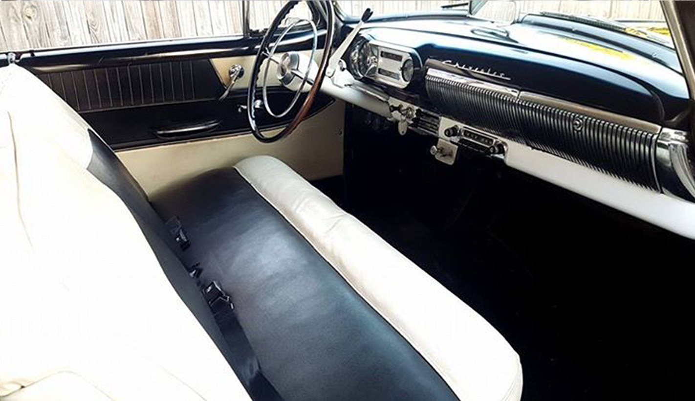 1953 Chevrolet Bel Air interior