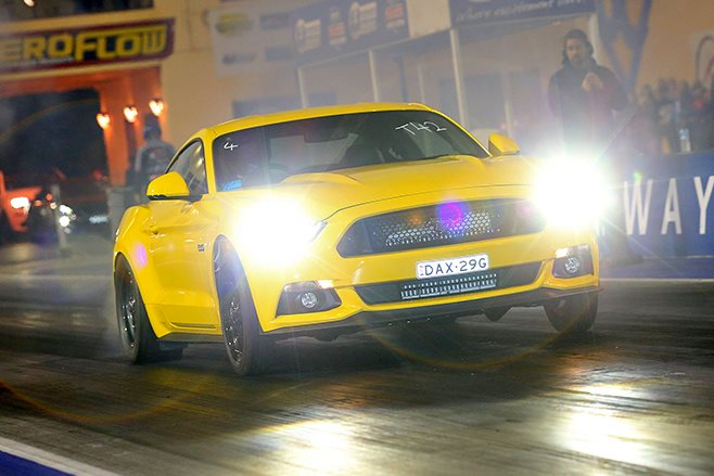 Ford Mustang drag