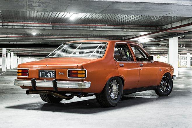 Holden Sunbird rear angle