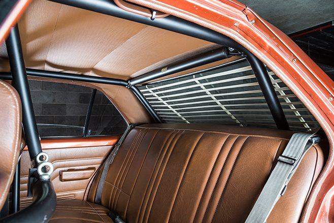 Holden Sunbird interior rear