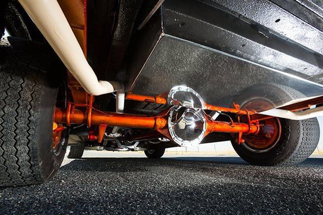 Bedford Van axle