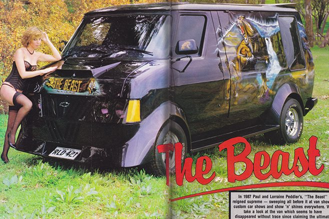 The Beast Debuted In 1984 And Went On To Win Its Fair Share Of Awards Around Hometown Adelaide Including Top Van Best Murals