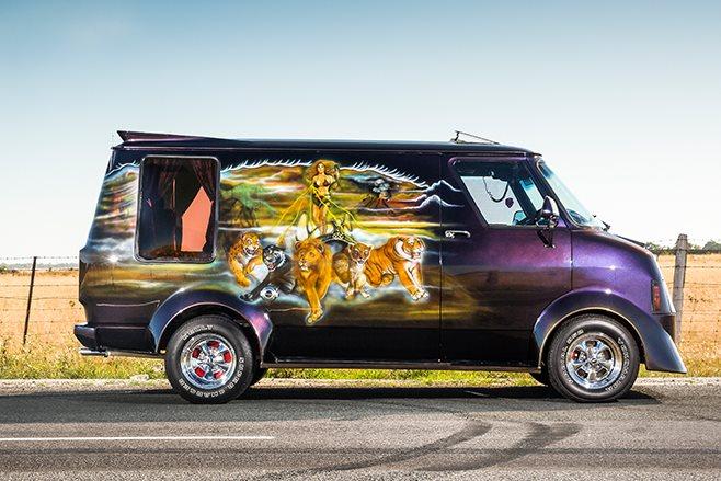 Bedford Van side