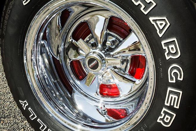 Bedford van wheel