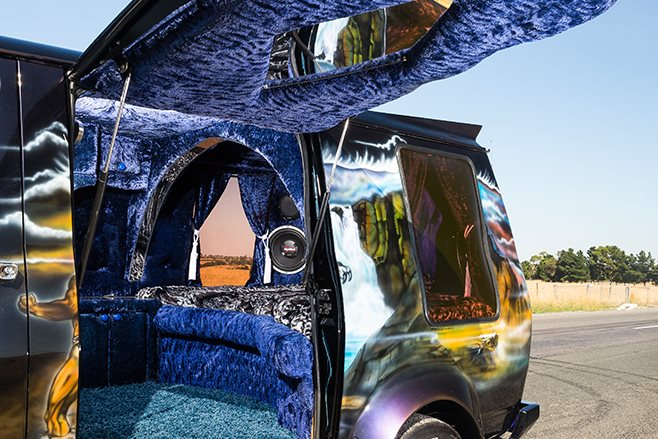 Bedford Van interior