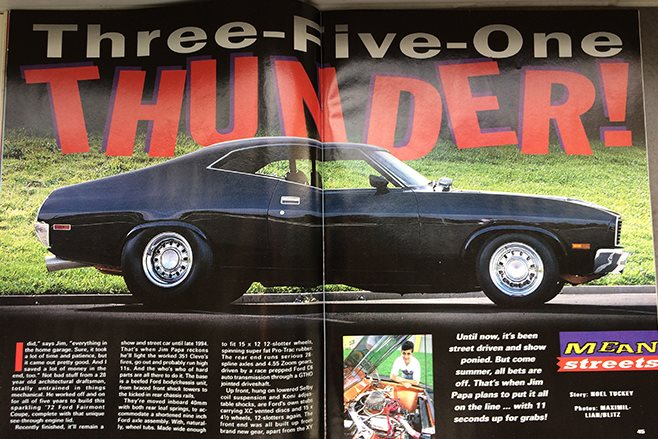 Ford XC Falcon in Street Machine magazine