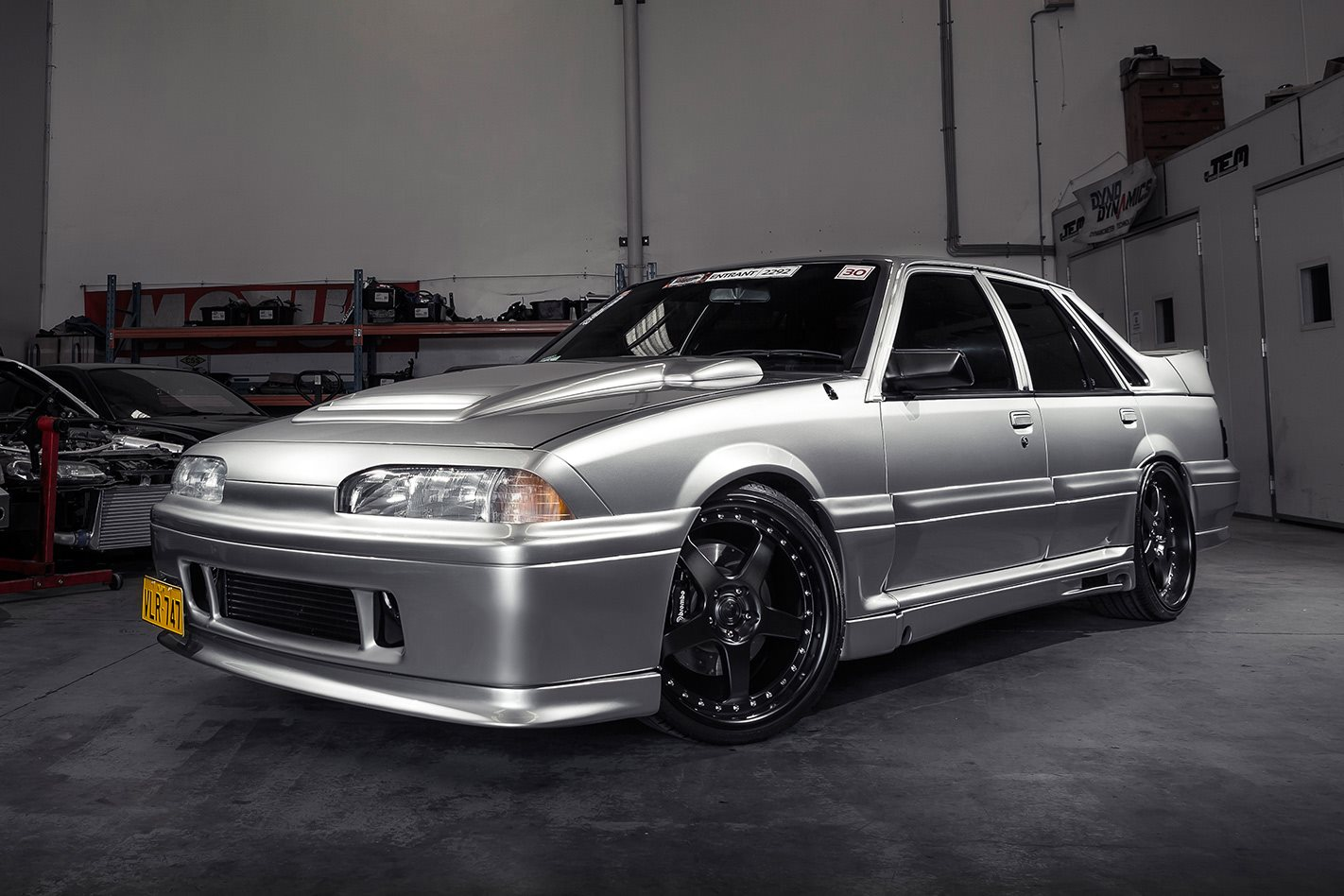 Hsv Vl Walkinshaw Replica With Nissan Gt R Rb26 And