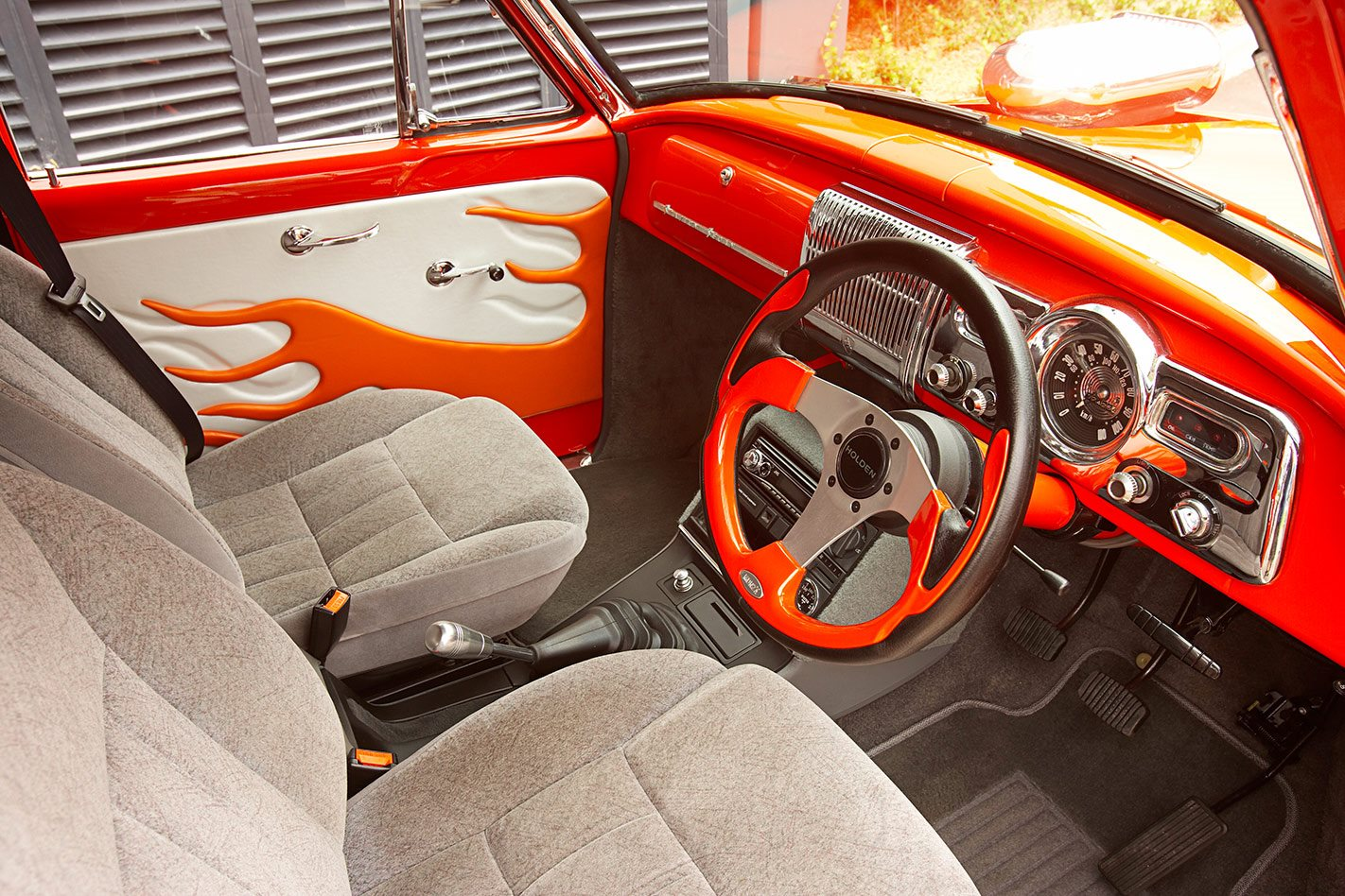 Holden FC wagon interior front