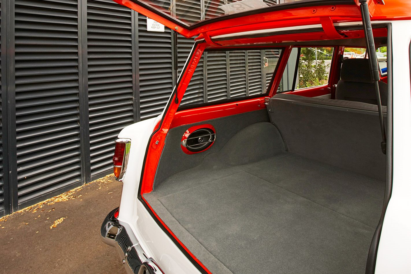 Holden FC wagon interior