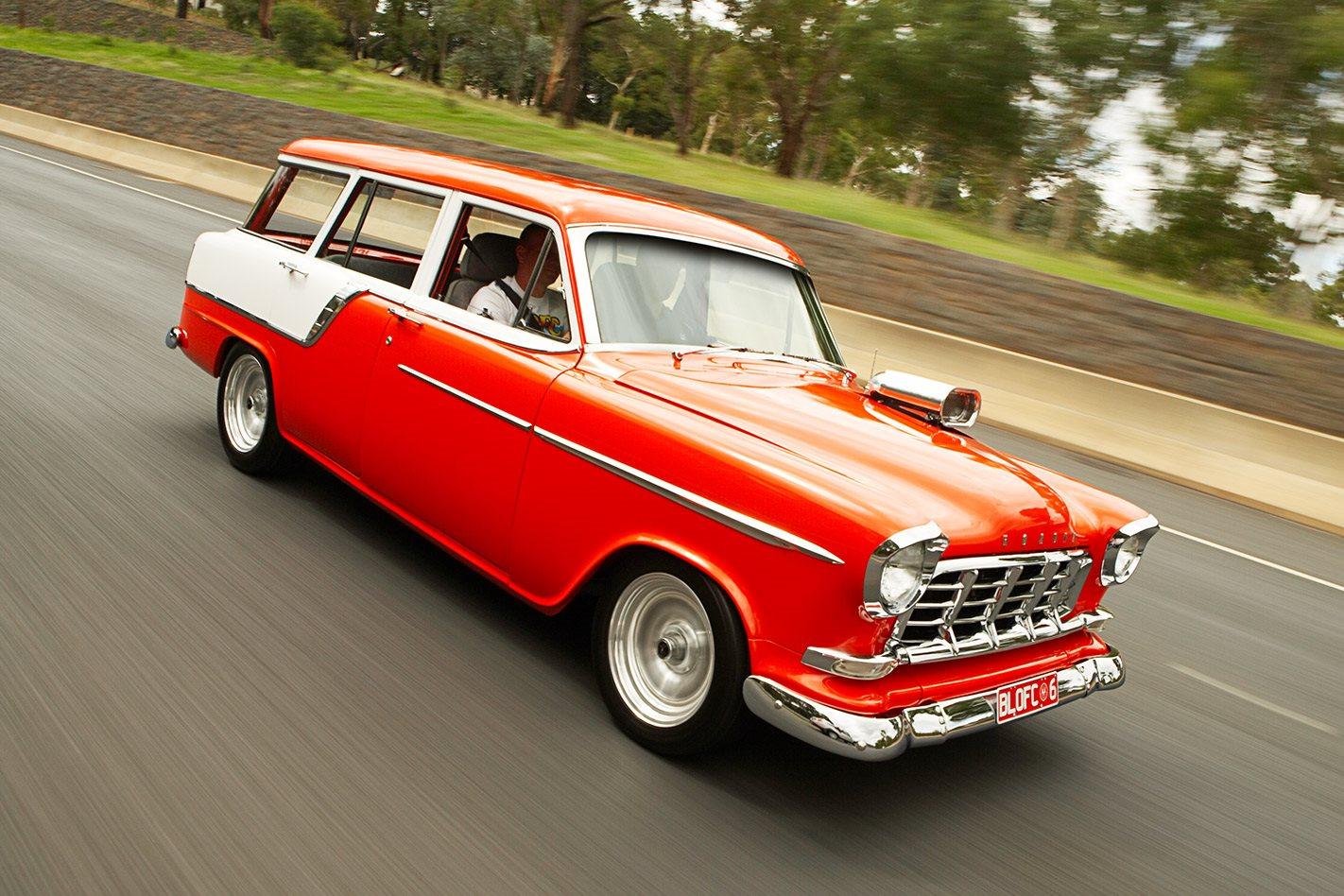 Holden FC wagon onroad