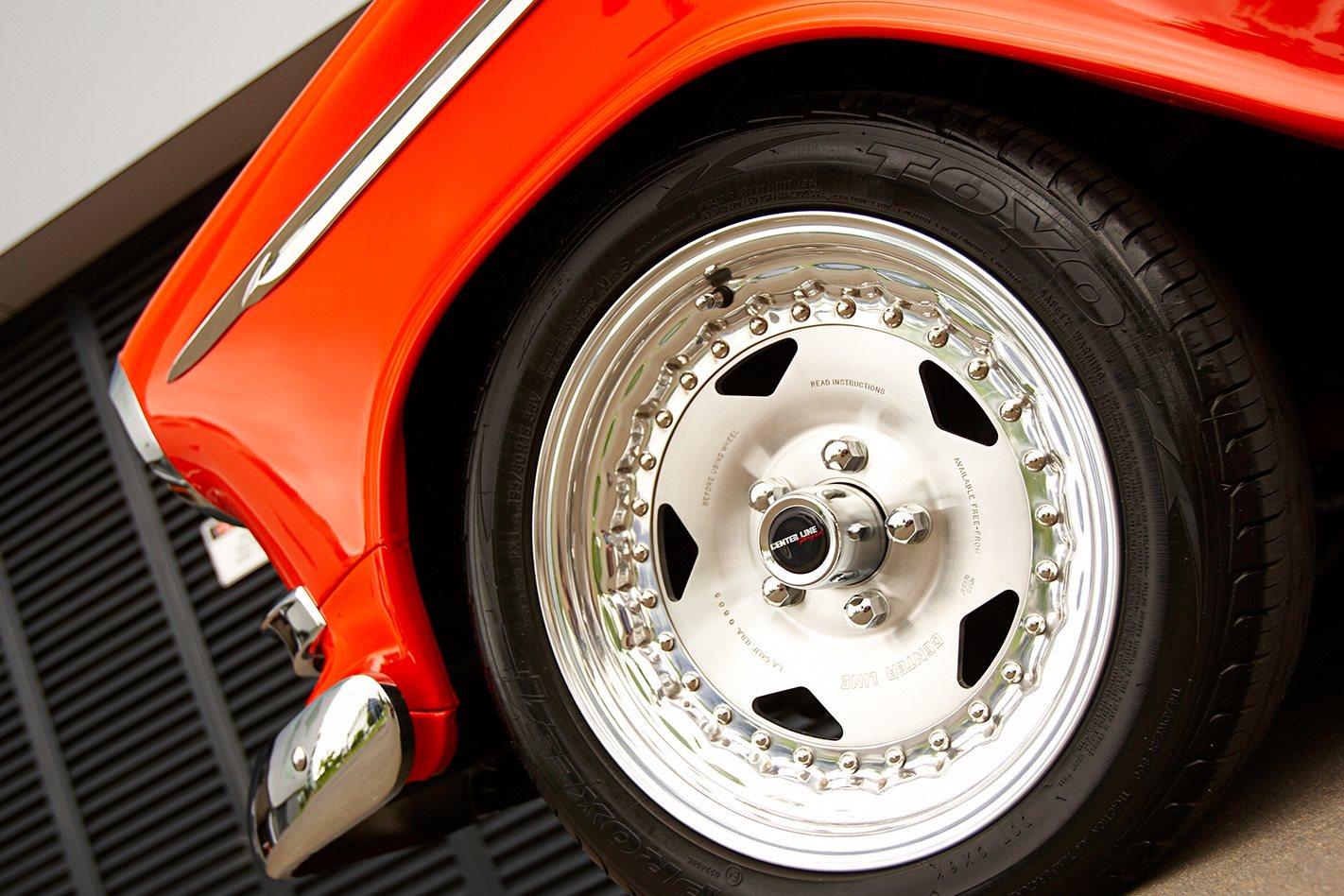 Holden FC wagon wheel