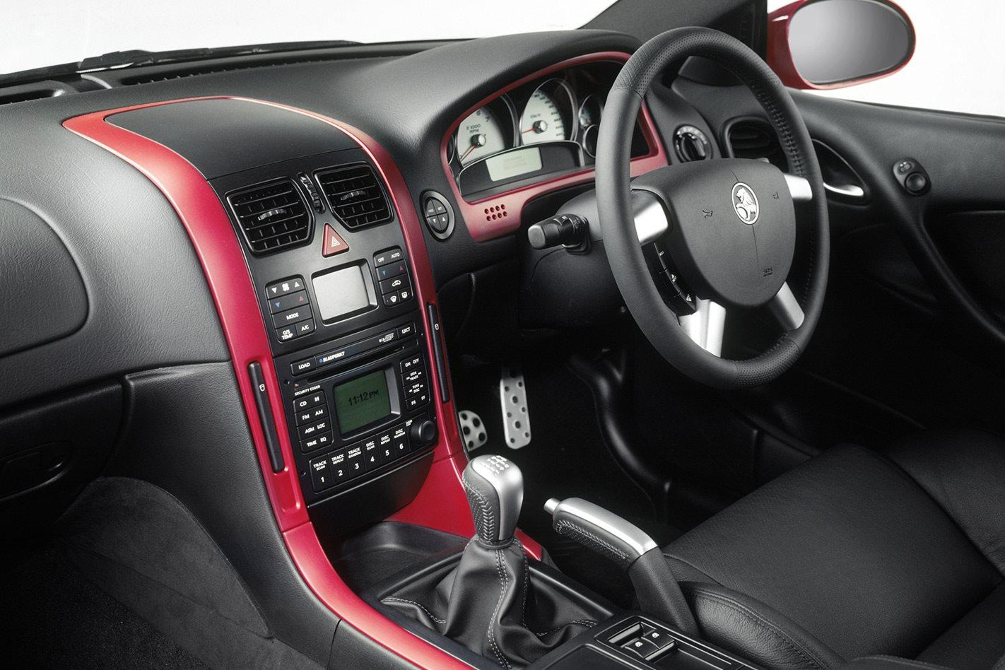 Holden Monaro Series III interior