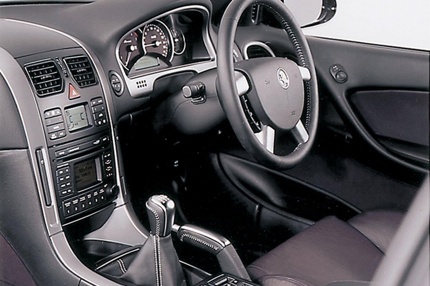 Holden Monaro Series II interior