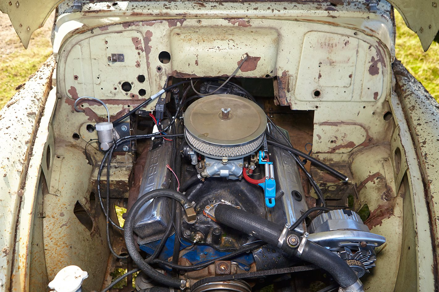 V8 MORRIS MINOR engine