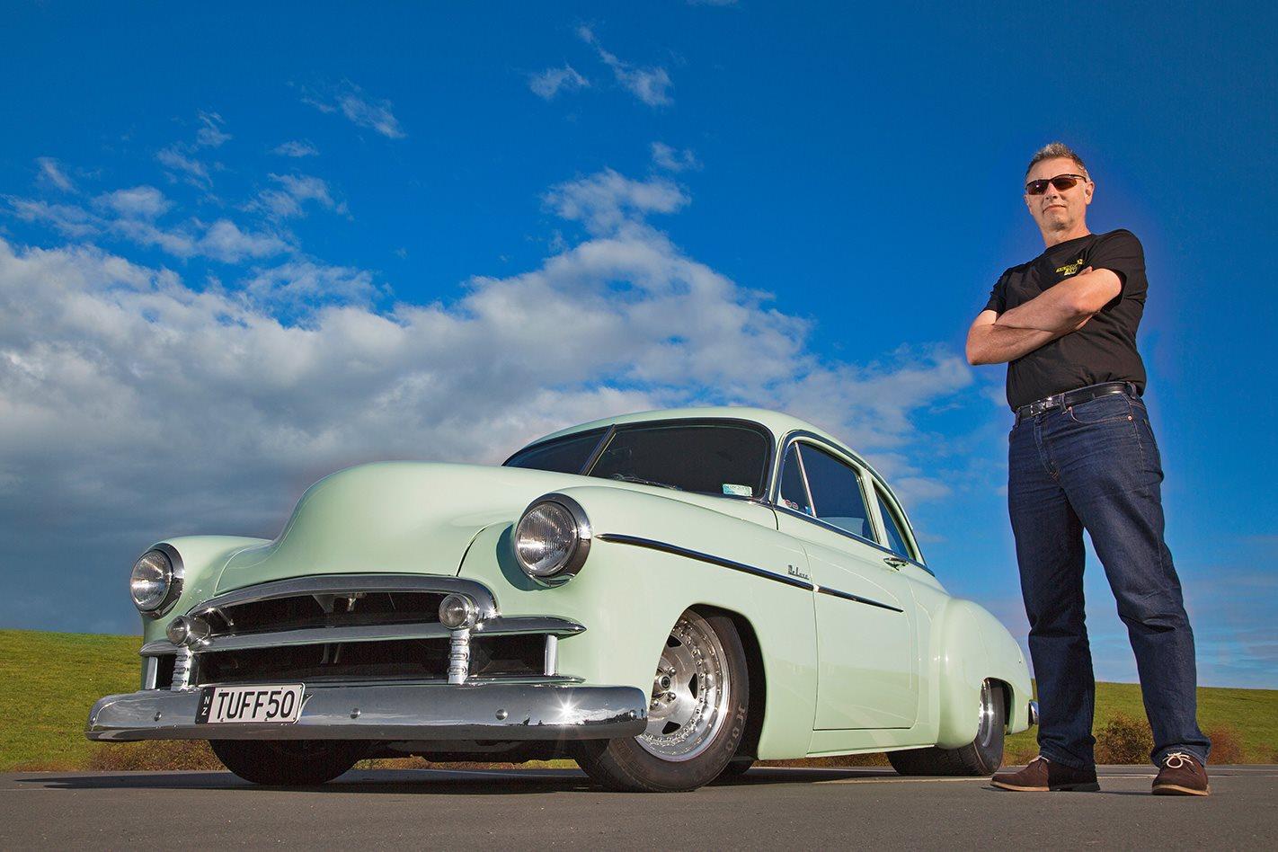 IAN RAINBOW'S 1950 V8 CHEV COUPE