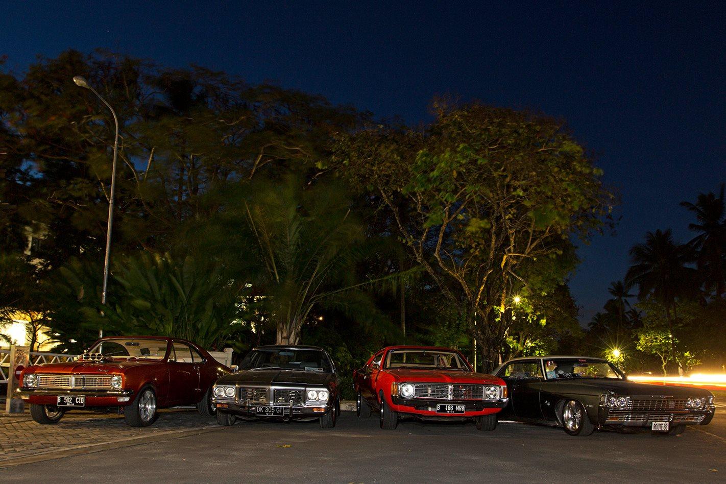 nightime in Jakarta