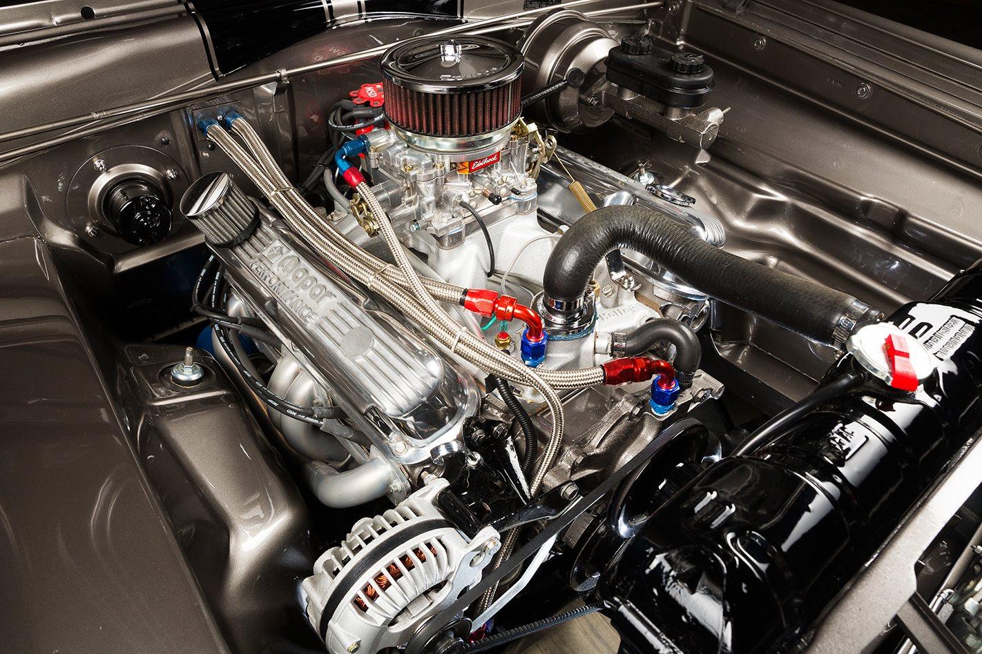 1966 PLYMOUTH BARRACUDA engine