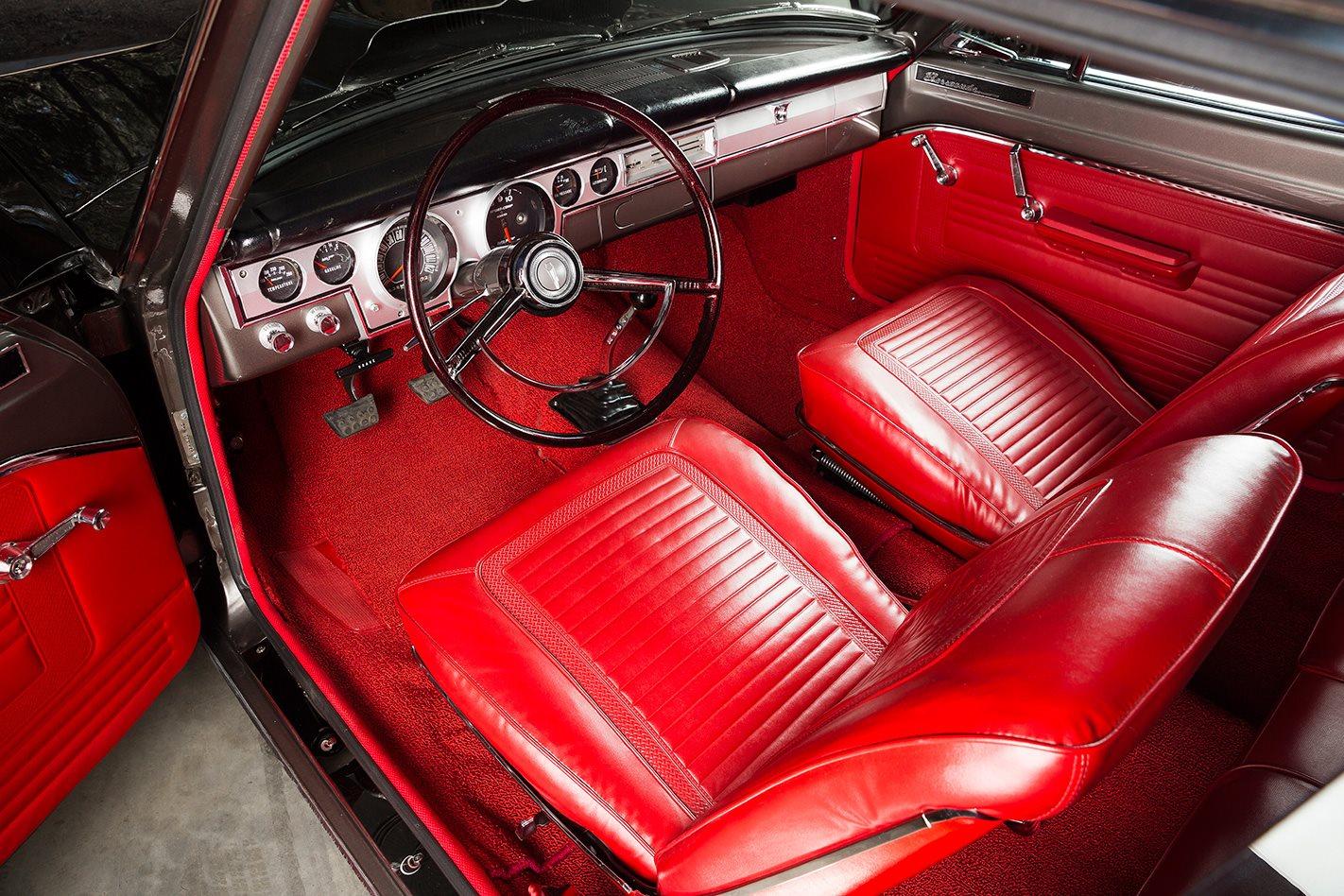1966 PLYMOUTH BARRACUDA interior