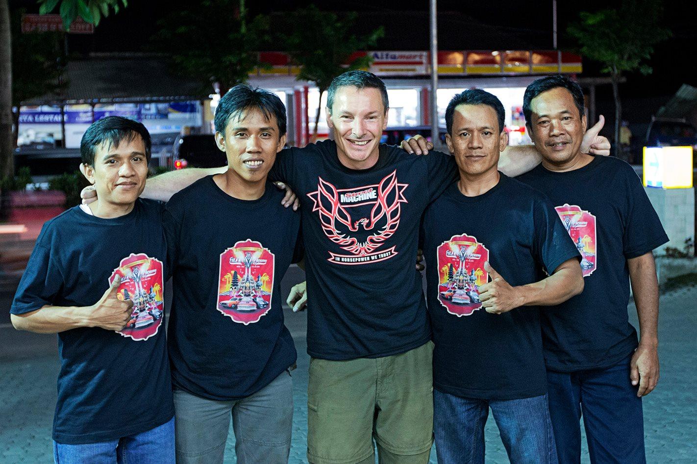 Street Machine fans from Bali