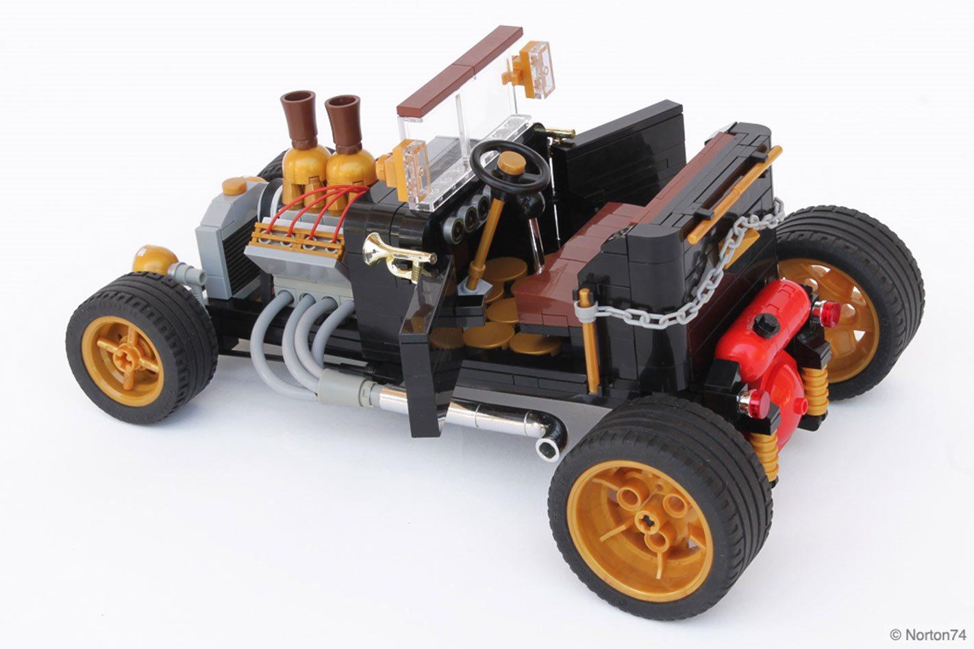 Lego Built My Hot Rod