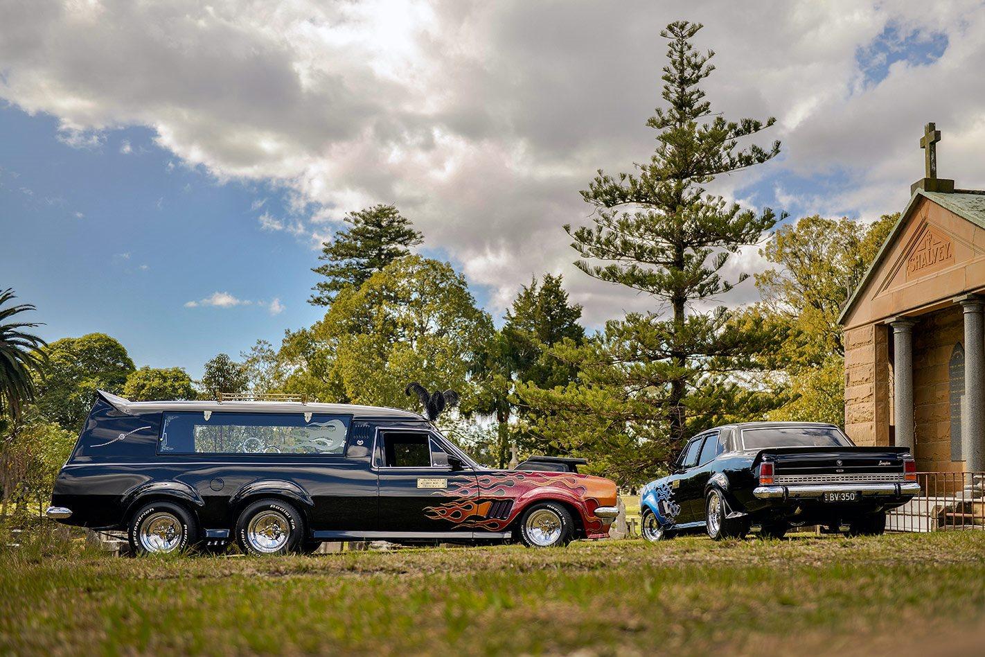 Holden hearse
