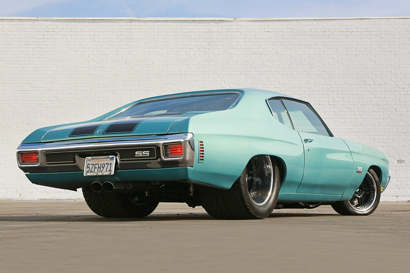 Chevelle Ss Rear on Twin Turbo Duramax Chevelle