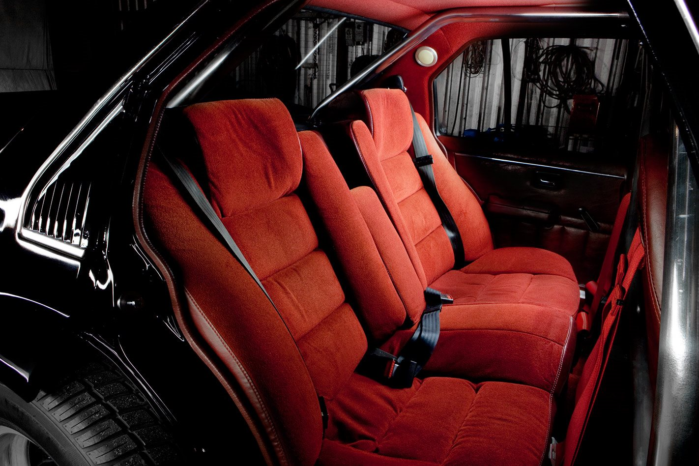 HDT Brock replica rear seats