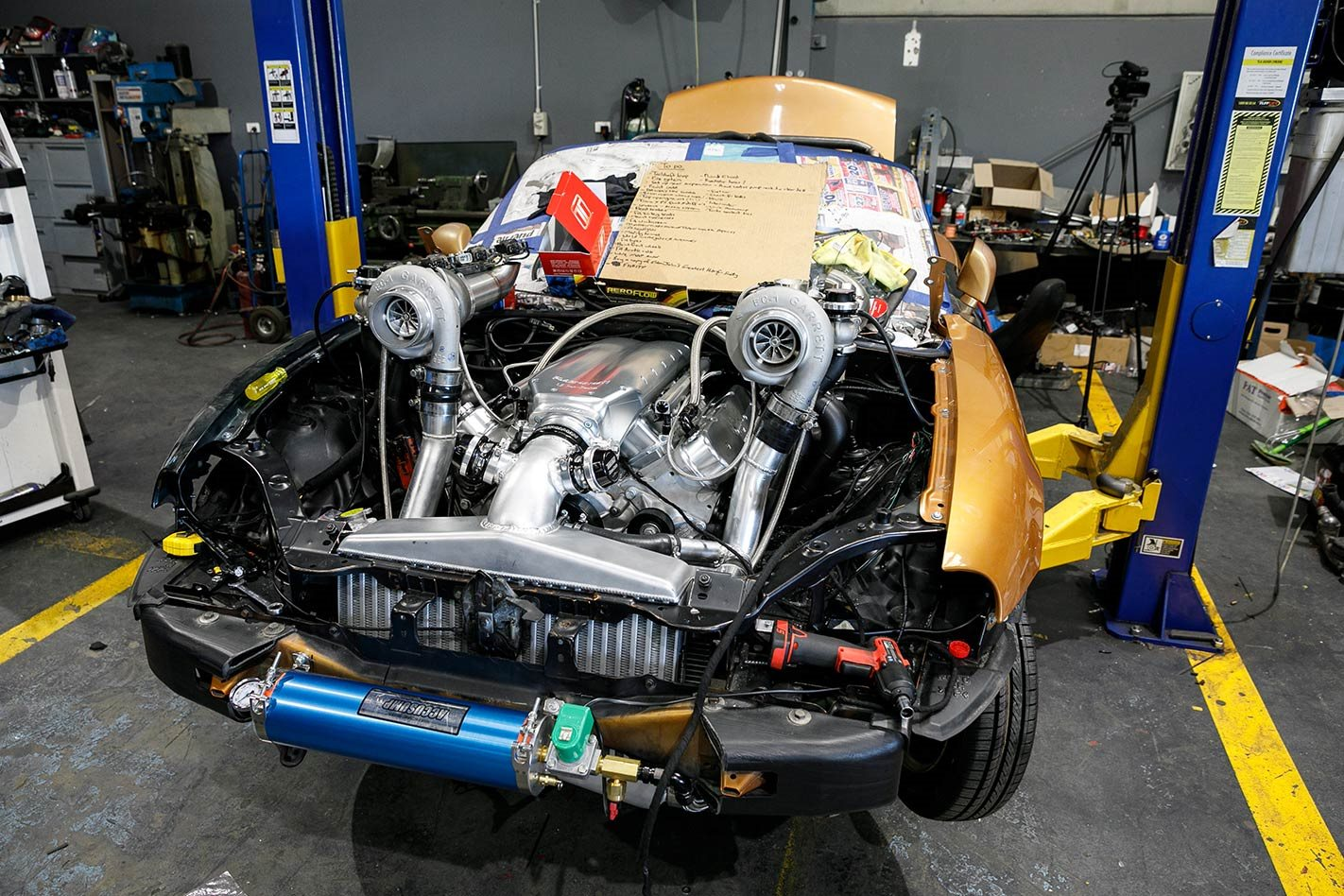 CARNAGE: TWIN-TURBO V8-SWAPPED MX-5 – PROJECT MX5 7 EPISODE TWO