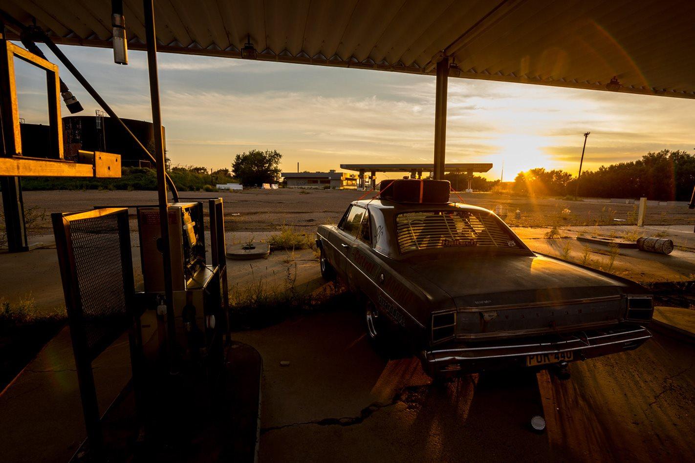 POR440 petrol station