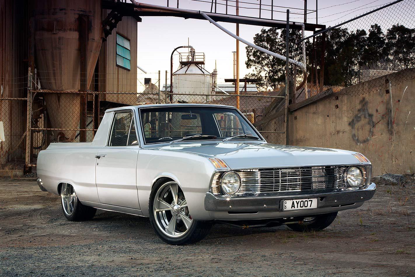 hemi 265 powered 1970 valiant vg ute