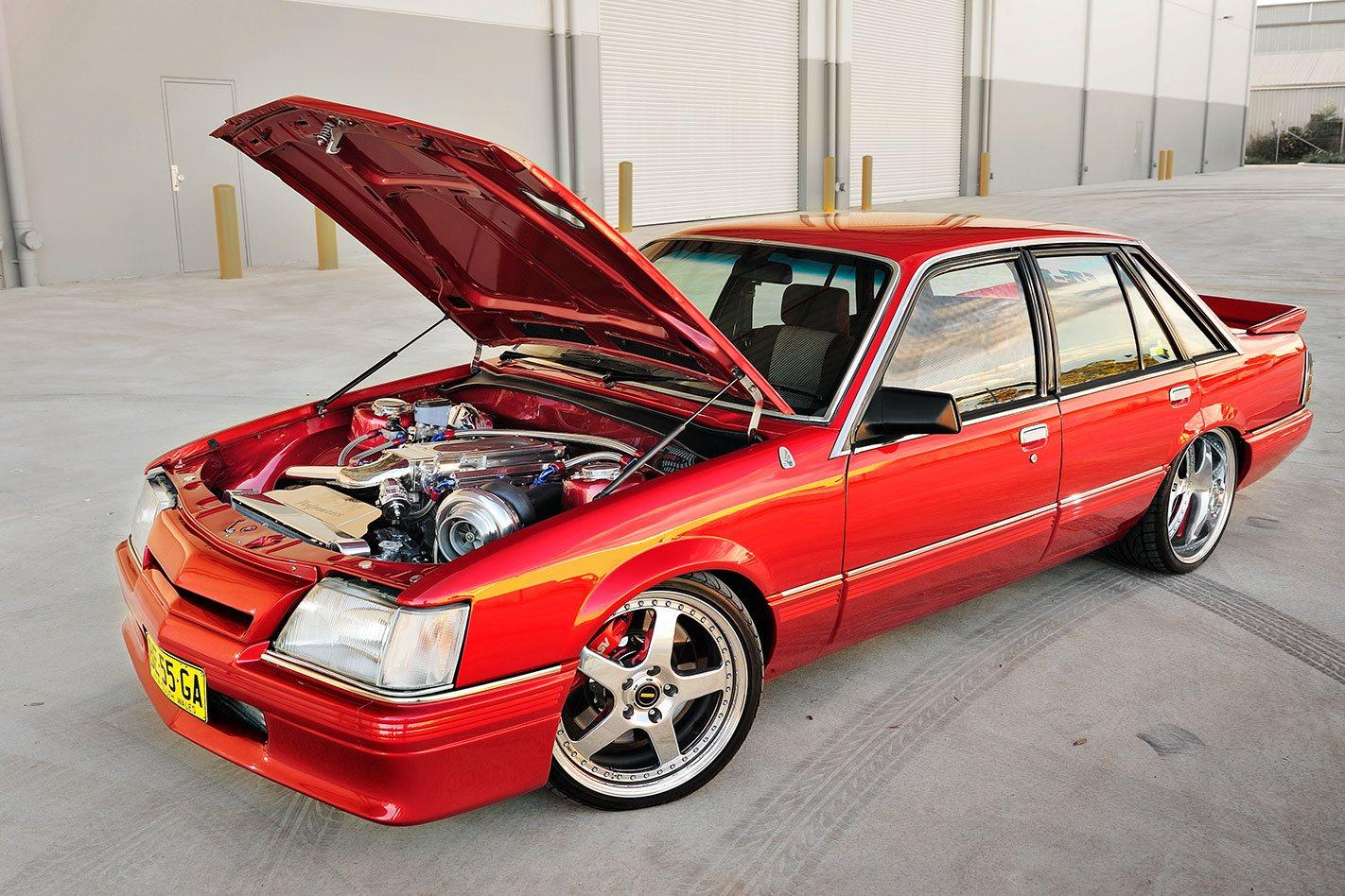 turbo 355 holden stroker powered 1984 hdt vk calais street machine