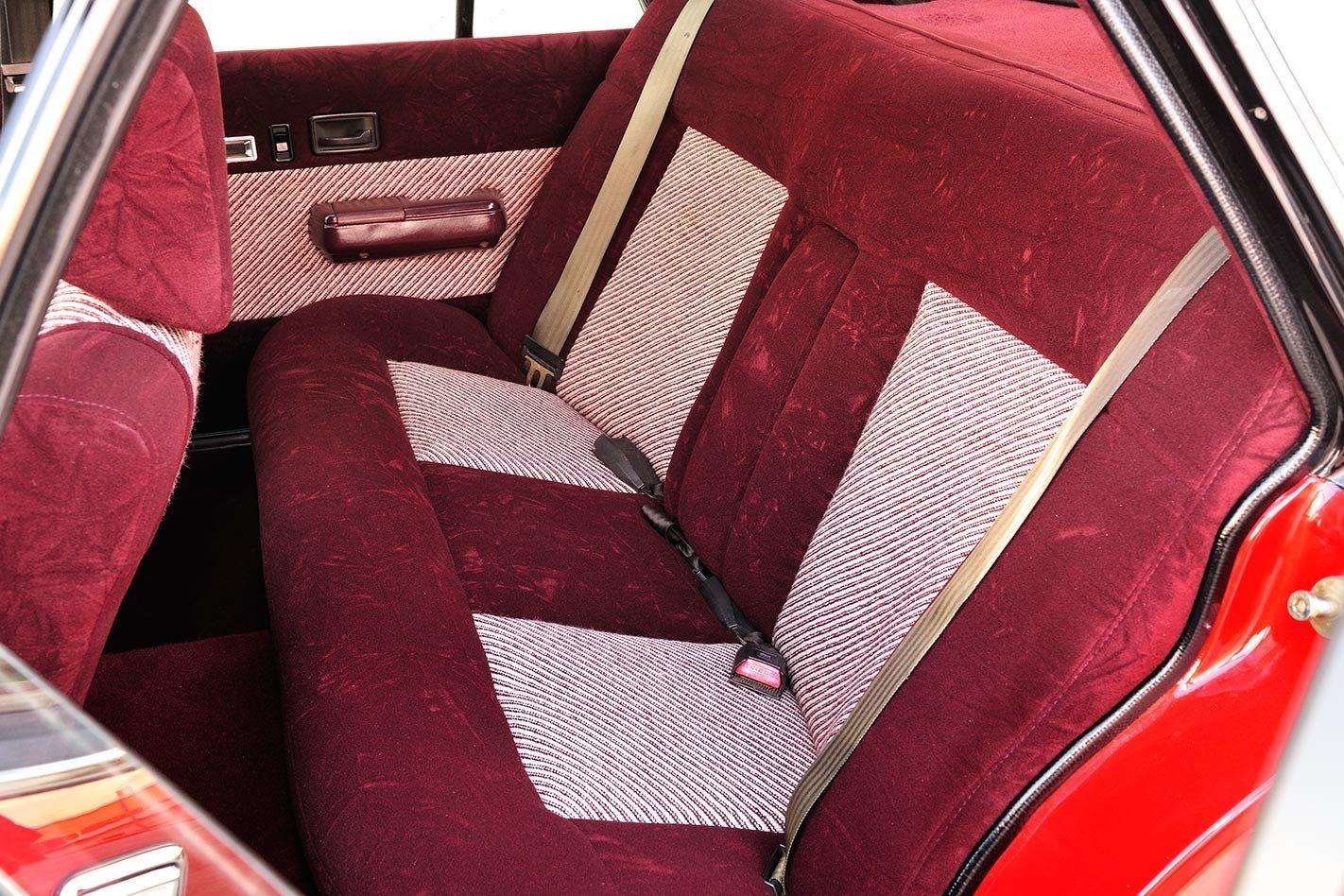 HDT VK Calais interior rear