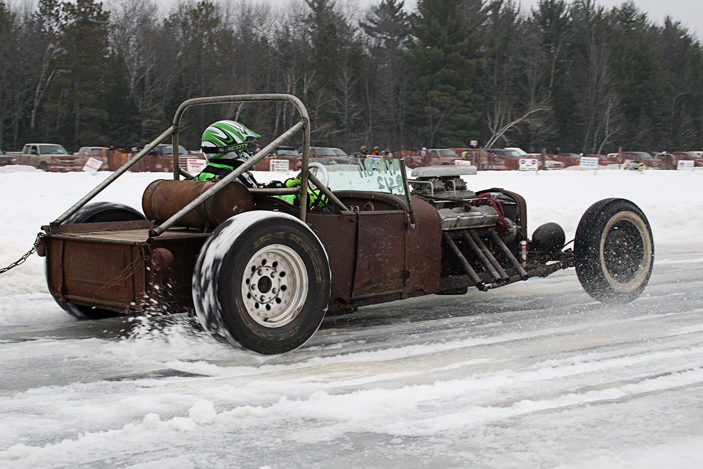 ice drag racing