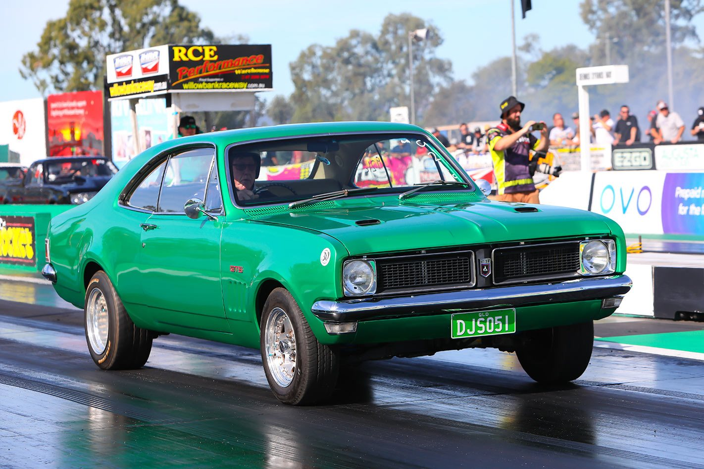 Holden HK HT HG drag day