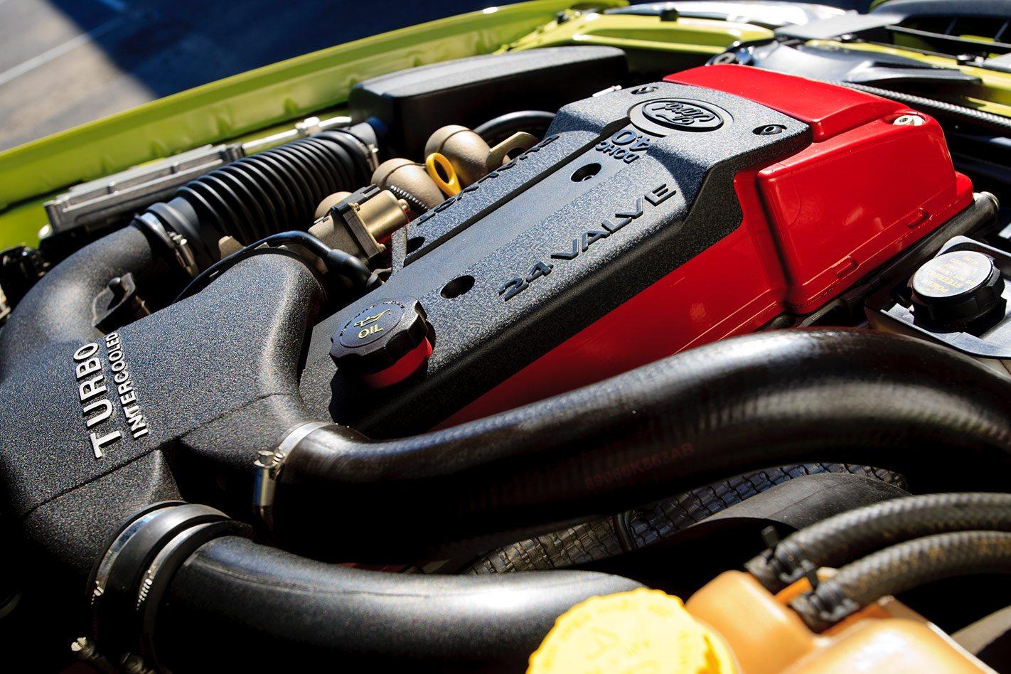 Ford Falcon BA XR6 Turbo engine