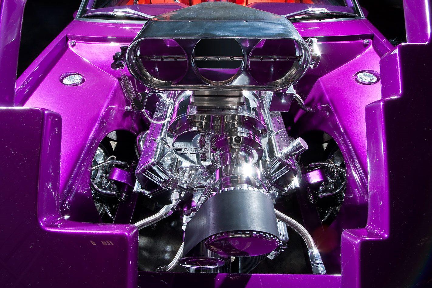 Psycho XF Falcon engine