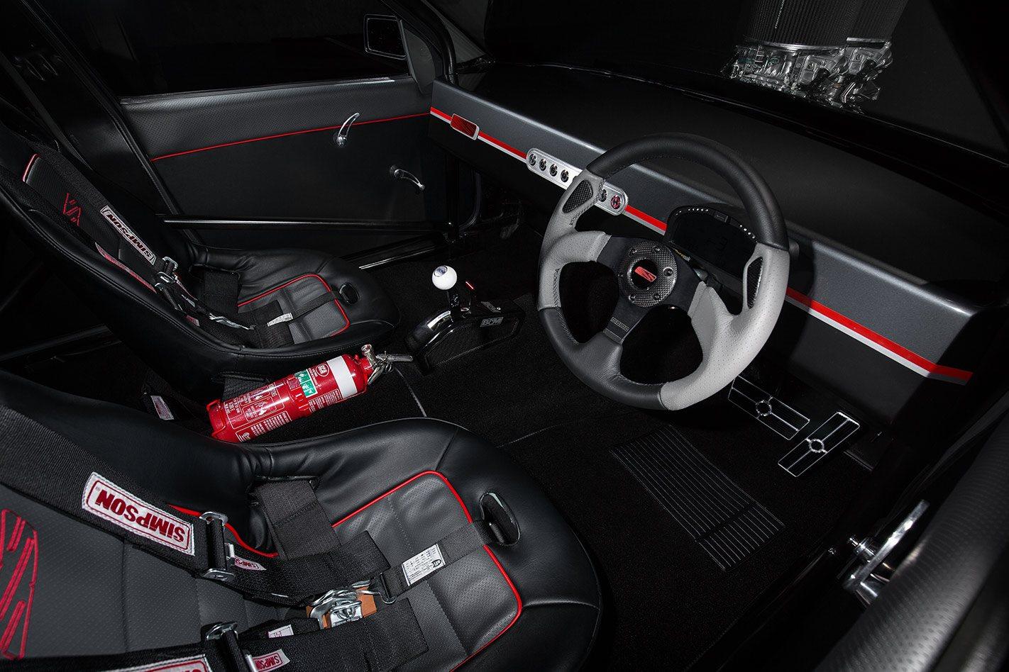 Holden Commodore VN SS interior