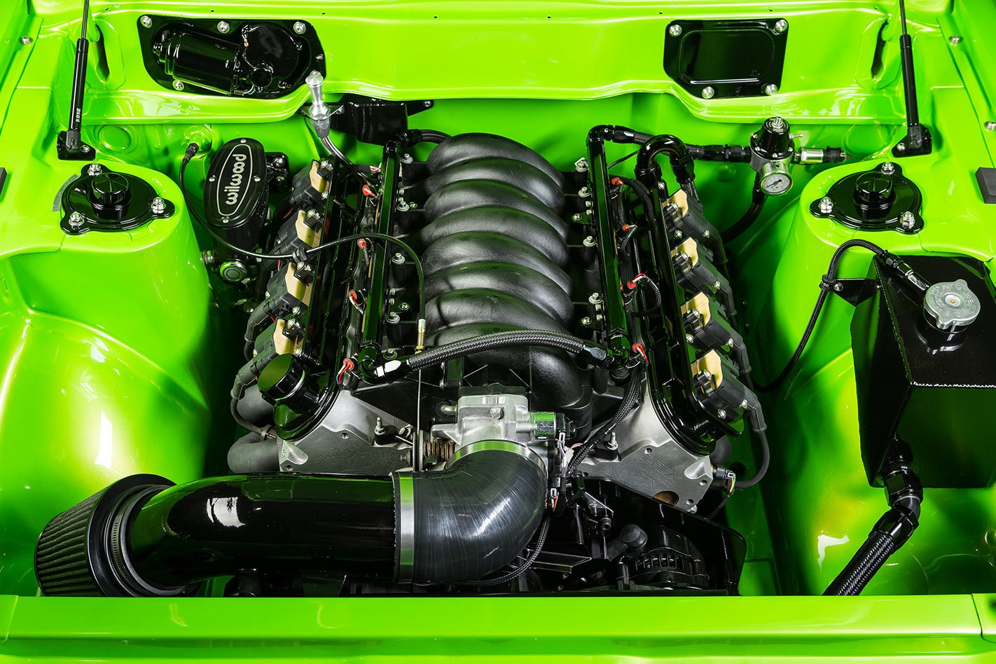 Mitsubishi Galant engine bay