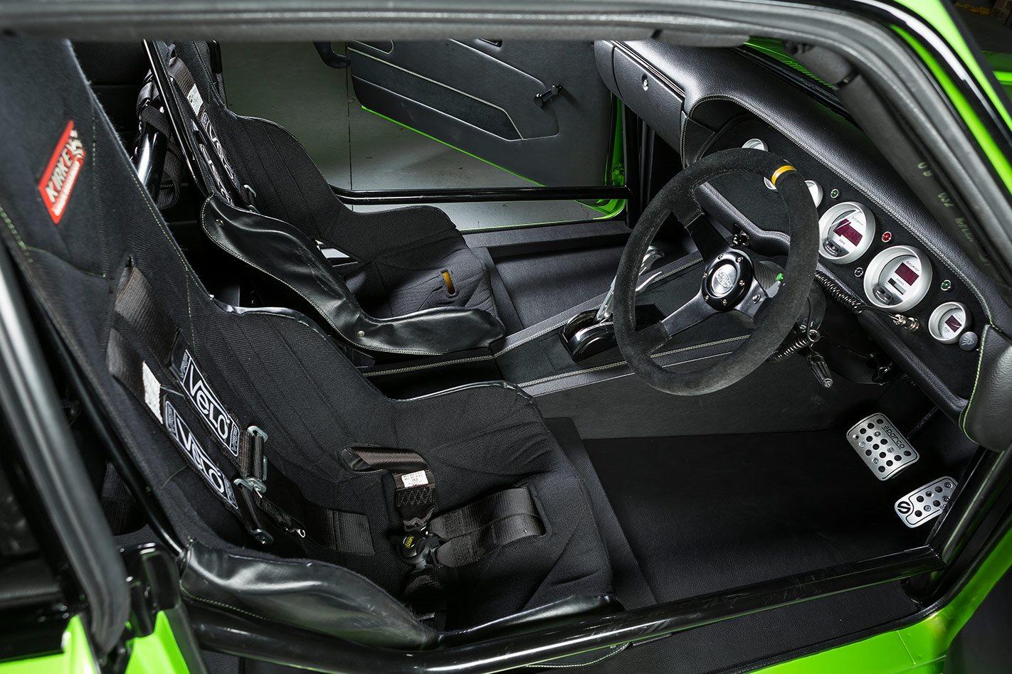 Mitsubishi Galant interior front