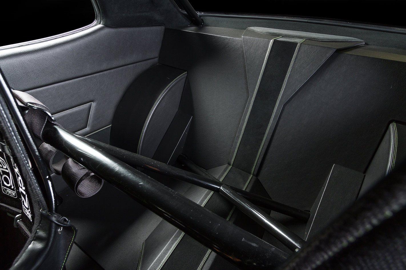 Mitsubishi Galant interior rear