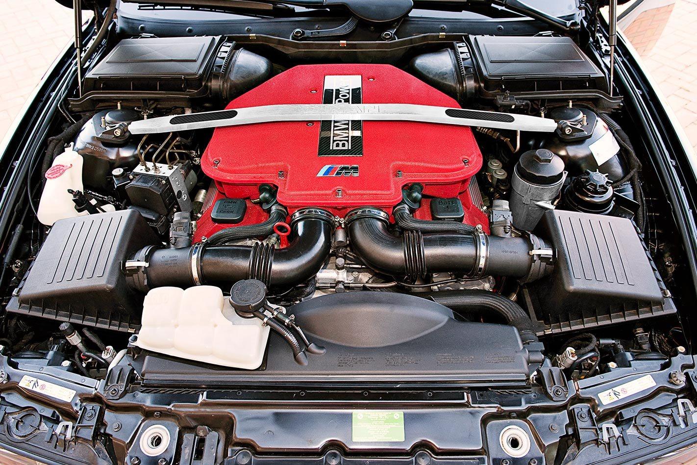 BMW M5 engine