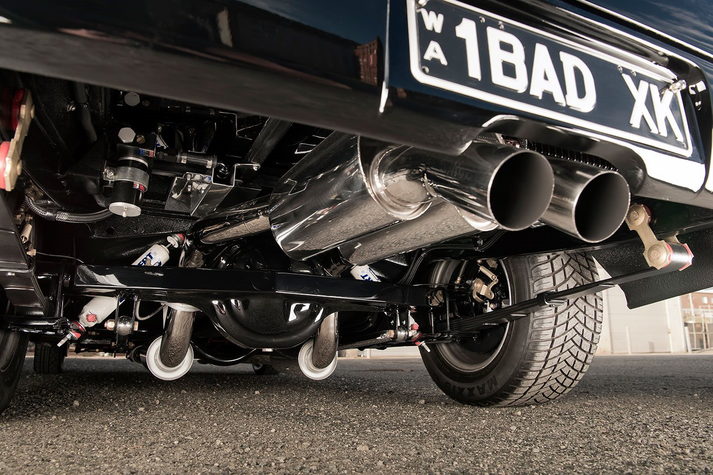 Ford Falcon XK ute exhaust